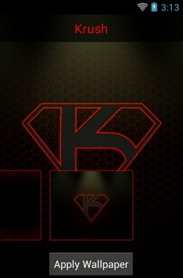 Krush android theme wallpaper