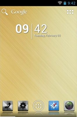 android theme 'Elegance'