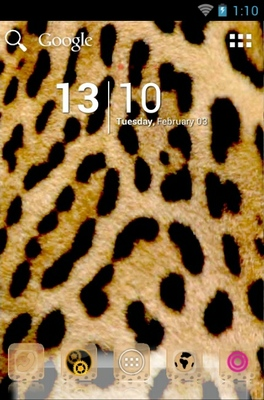 android theme 'Exotic Leopard '