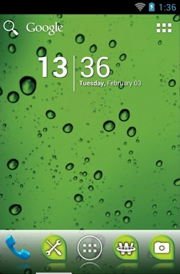 android theme 'Ecology Green'