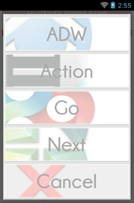 Puntada android theme launcher menu