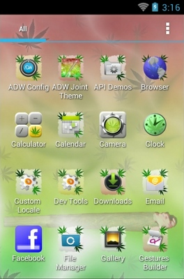 ADW Joint Theme android theme application menu