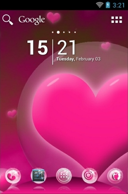 android theme 'Hearts'