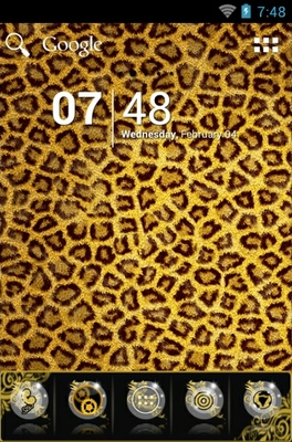 android theme 'Leopard'