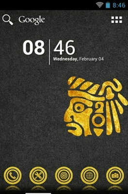 android theme 'El Dorado Gold'