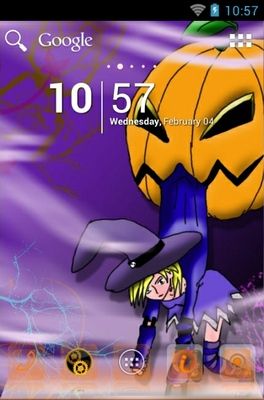 android theme 'Halloween'