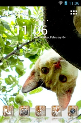 android theme 'Sweet Kitty'