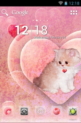 android theme 'Kitty '