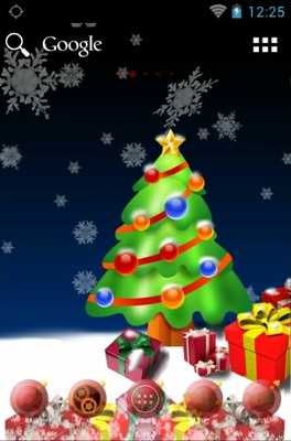 android theme 'Christmas Tree'