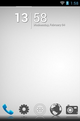 android theme 'Pearly White Vanilla'