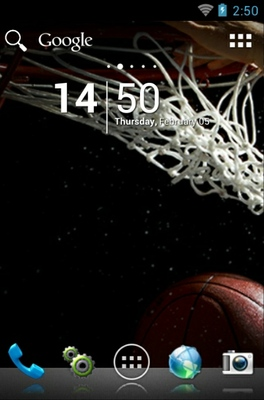 android theme 'Hoops'