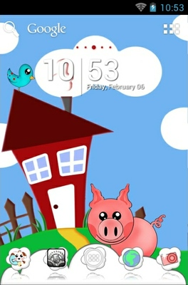 Happy Farm android theme