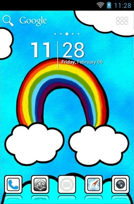 Beautiful Cloud android theme