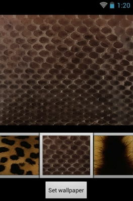 Animalier  android theme wallpaper