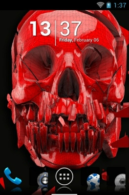 android theme 'Skull'
