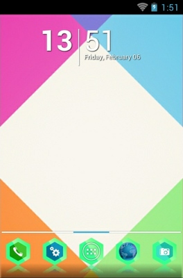 android theme 'Colourful'