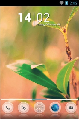 Nature android theme