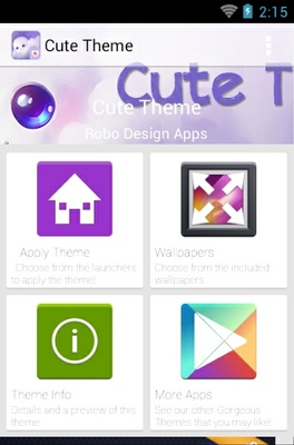 Cute android theme