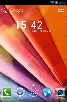 android theme 'Galaxy S4'