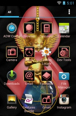 Breast Cancer Care android theme application menu