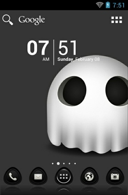 android theme 'The Ghost'