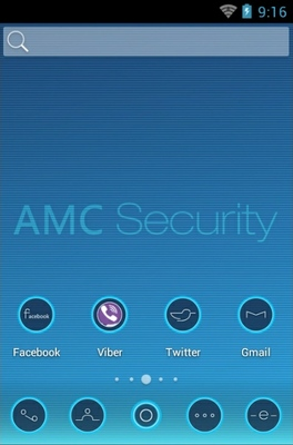 android theme 'AMC Security'