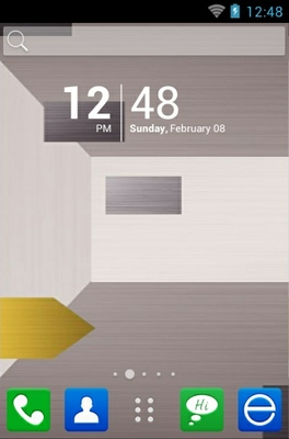 android theme 'Gray Square'