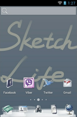 android theme 'Sketch Style'
