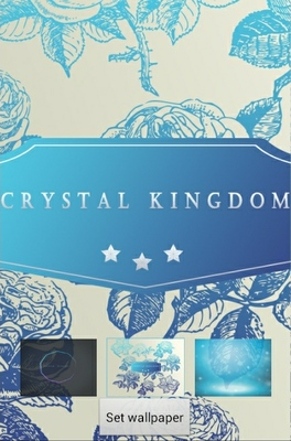 Crystal Kingdom android theme wallpaper