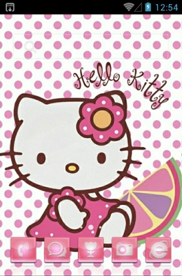 Hello Kitty android theme