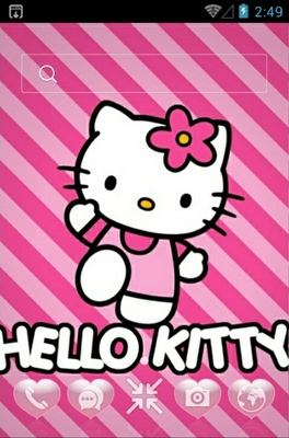 android theme 'Kitty'