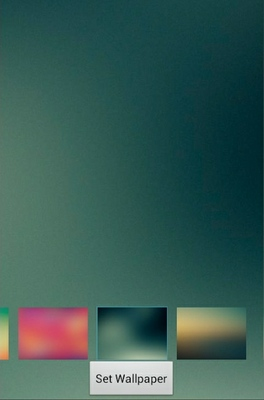 Gradient android theme wallpaper