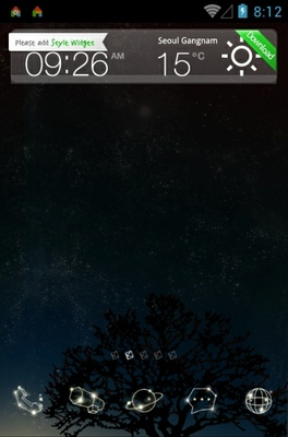 android theme 'The Star's Voice'