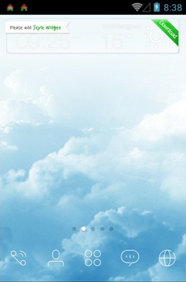 Sky Dream android theme