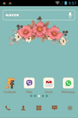 android theme 'Blossom'
