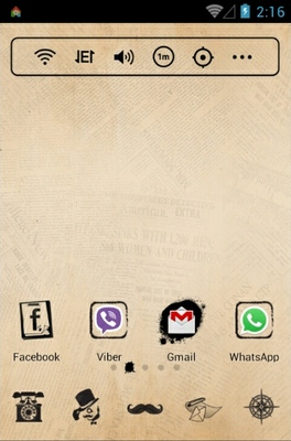 android theme 'Mr Detective'