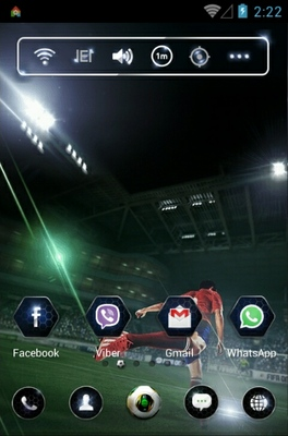 FIFAOnline3 android theme home screen