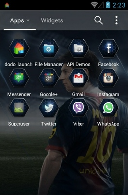 FIFAOnline3 android theme application menu