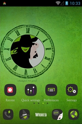 android theme 'WICKED'