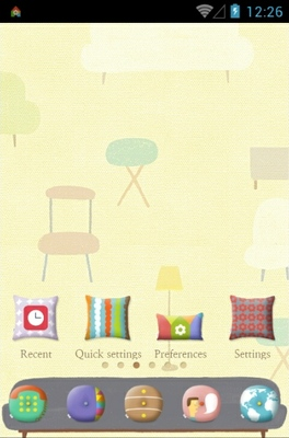 android theme 'Cushion In My Room'