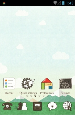 android theme 'Cartoon Play'