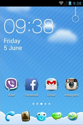 android theme 'Summer Like U'