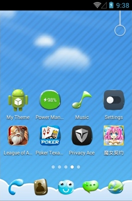 Summer Like U android theme