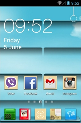 Memories Of Youth android theme