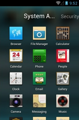 Memories Of Youth android theme application menu