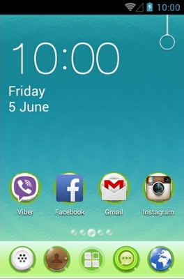 Lotus Pond android theme