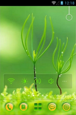 android theme 'Green'