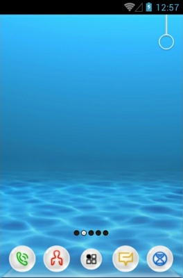 Underwater android theme