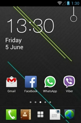 android theme 'Iinfinite'