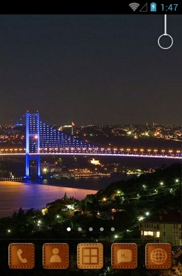 android theme 'Bosphorus Bridge'